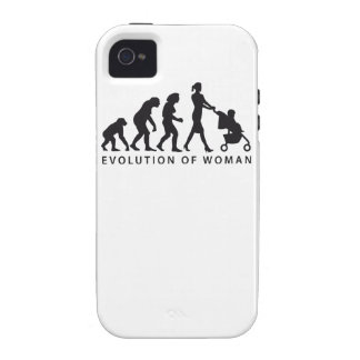 evolution of woman with baby iPhone 4 hüllen