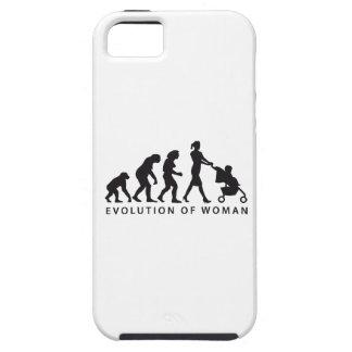 evolution of woman with baby iPhone 5 schutzhüllen