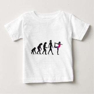 evolution OF woman yoga position Baby T-Shirt