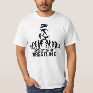 Evolution of Wrestling T-Shirt