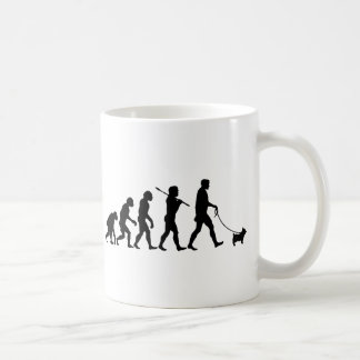 Evolution Of Yorkshire Terrier Man Coffee Mug