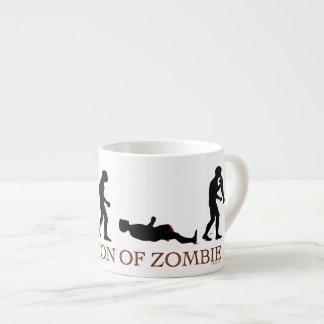 Evolution of Zombie Espresso Mug