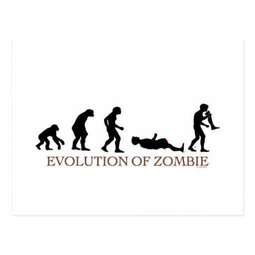 Evolution of Zombie Postcard