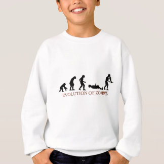 Evolution of Zombie Sweatshirt
