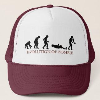Evolution of Zombie Trucker Hat