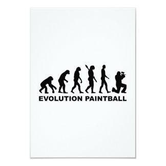 Evolution Paintball Custom Invites