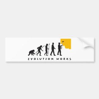 evolution painter autoaufkleber