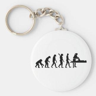Evolution physiotherapist key ring