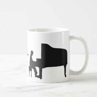 evolution piano coffee mug