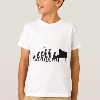 evolution piano t shirt