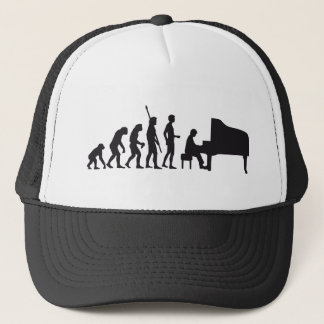 evolution piano trucker hat