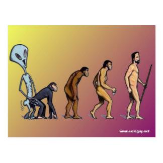 evolution postcards