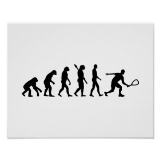 Evolution Racquetball Poster
