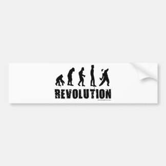 Evolution Revolution Bumper Sticker