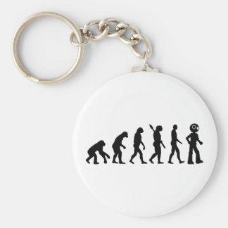 Evolution Robot Key Chains