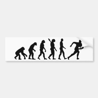 Evolution Rugby Bumper Sticker
