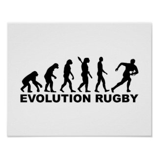 Evolution Rugby Poster