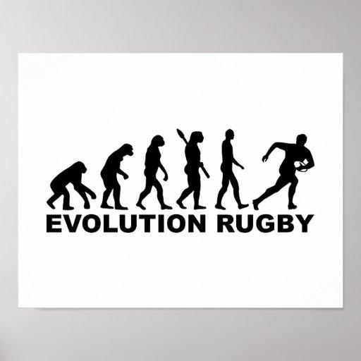 Evolution Rugby Print