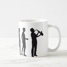 Evolution saxophon kaffeehaferl