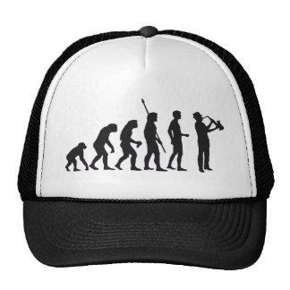 Evolution saxophone mesh hats