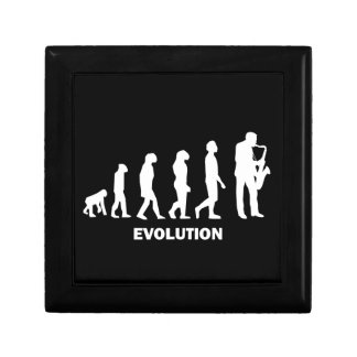 evolution saxophone small square gift box