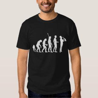 Evolution saxophone t-shirts