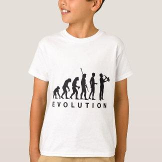 evolution saxophone tee shirts