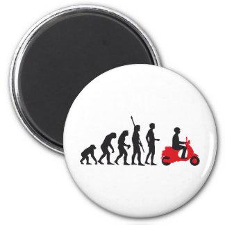 evolution scooter kühlschrankmagnete