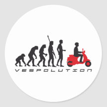 evolution scooter stickers