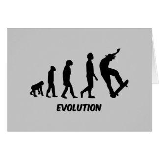 Evolution Skateboarding Card