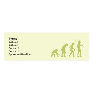 Evolution - Skinny Pack Of Skinny Business Cards