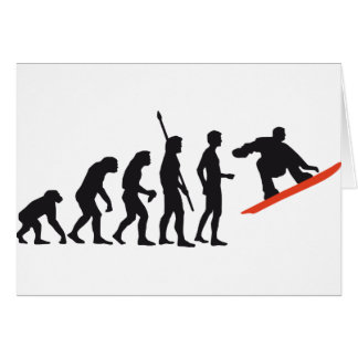 evolution snowboard card