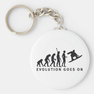 evolution snowboard key ring