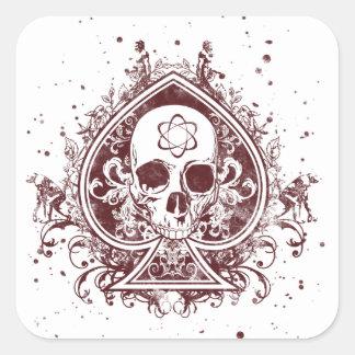 Evolution Spade Stickers