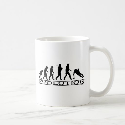 Evolution - Speed Skating Classic White Coffee Mug