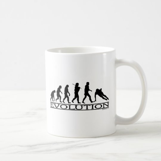 Evolution - Speed Skating Coffee Mug