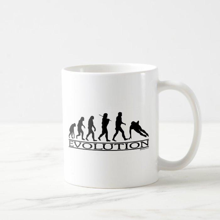 Evolution - Speed Skating Coffee Mug