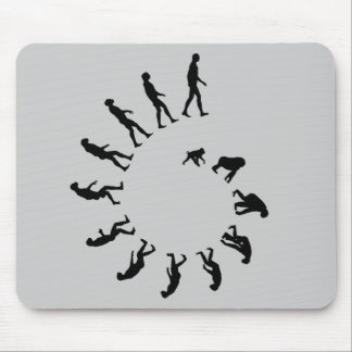Evolution Spiral Mouse Pad