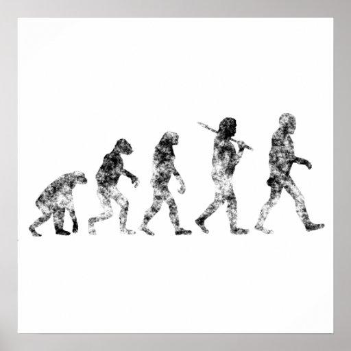Evolution Standard - Clouds Poster