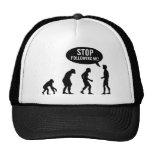 evolution - stop following me! mesh hat