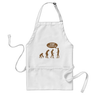 evolution - stop following me! standard apron
