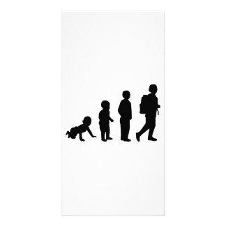 Evolution student school photo cards