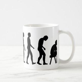 Evolution Tattoo artist Coffee Mug