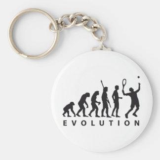evolution tennis key ring
