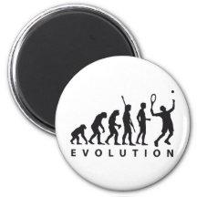 evolution tennis kühlschrankmagnet
