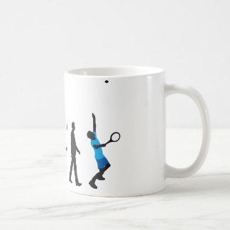 evolution tennis more player coffee mug
