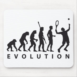 evolution tennis mouse pad