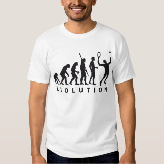 evolution tennis shirt
