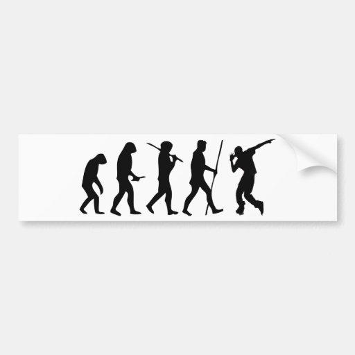 EVOLUTION TO STREET DANCER BUMPER STICKERS