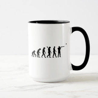 Evolution trap shooting mug